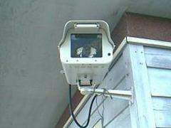 防犯カメラの画像